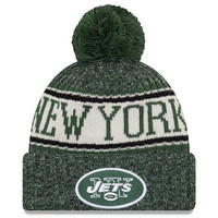 New Era NFL Sideline Bobble Knit 2018 New York Jets
