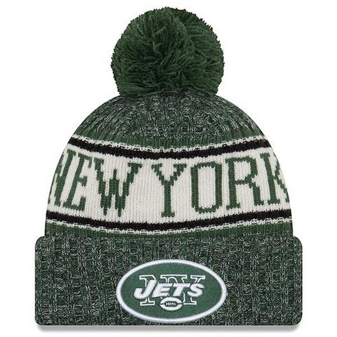New Era NFL Sideline Bobble Knit 2018 New York Jets