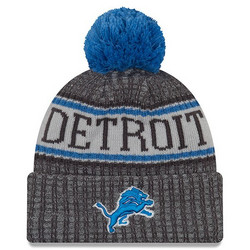 New Era NFL Sideline Bobble Knit 2018 Detroit Lions