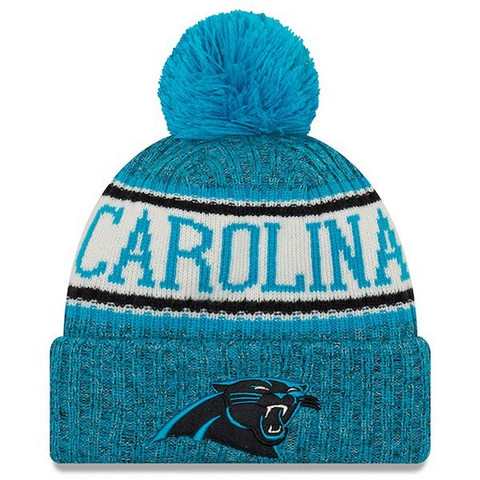 New Era NFL Sideline Bobble Knit 2018 Carolina Panthers