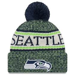 New Era NFL Sideline Bobble Knit 2018 Seattle Seahawks