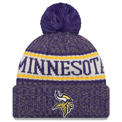 New Era NFL Sideline Bobble Knit 2018 Minnesota Vikings
