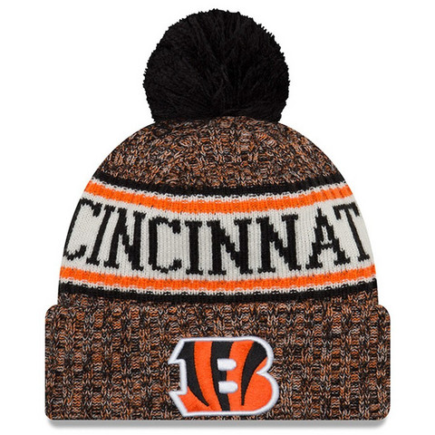 New Era NFL Sideline Bobble Knit 2018 Cincinnati Bengals