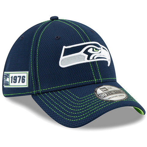 New Era 39Thirty 2019 Sideline Seattle Seahawks Flex Hat