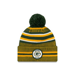 New Era NFL Sideline Bobble Knit 2019 Green Bay Packers