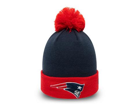 New Era NFL Pop Team Knit New England Patriots