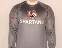 Pirkkala Spartans - pitkähihainen T-paita