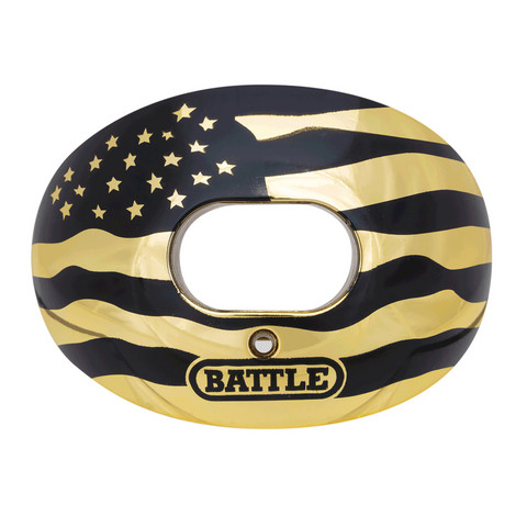 Battle - Oxygen Chrome American Flag Hammasuojat