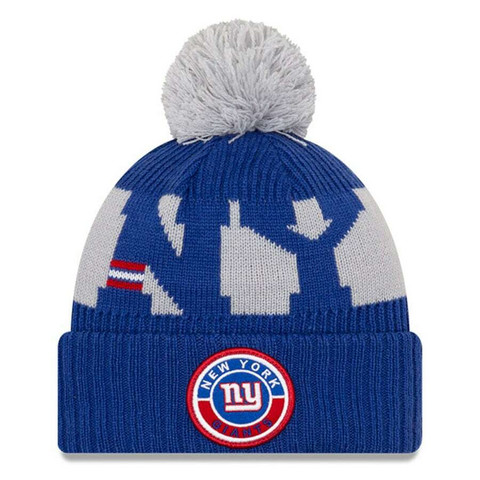 New Era NFL Sideline Bobble Knit 2020 New York Giants