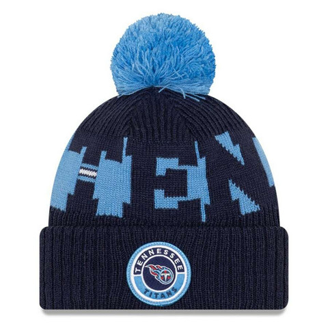 New Era NFL Sideline Bobble Knit 2020 Tennessee Titans