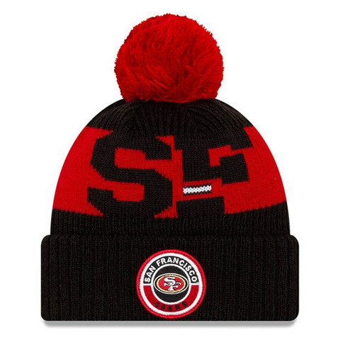 New Era NFL Sideline Bobble Knit 2020 San Francisco 49ers
