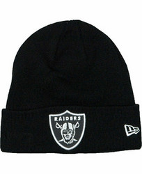 New Era NFL Cuff Knit Las Vegas Raiders