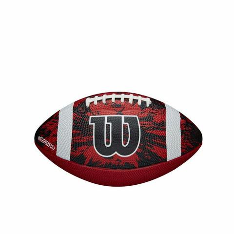 Wilson - Deep Threat Football Red JR