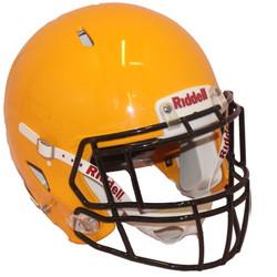 Keltainen Riddell Speed kypärä koko XL