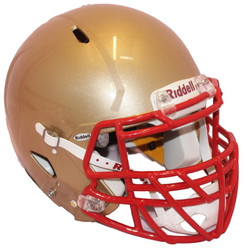 SB. Kultainen Riddell Speed kypärä koko XL