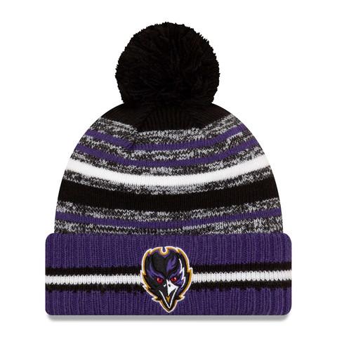 New Era NFL Sideline Sport Knit 2021 Baltimore Ravens