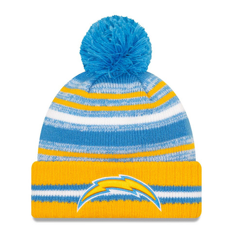 New Era NFL Sideline Sport Knit 2021 Los Angeles Chargers