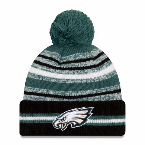 New Era NFL Sideline Sport Knit 2021 Philadelphia Eagles