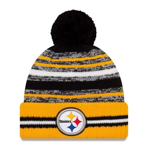 New Era NFL Sideline Sport Knit 2021 Pittsburgh Steelers