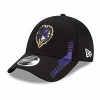New Era 39Thirty 2021 Sideline Baltimore Ravens Flex Hat