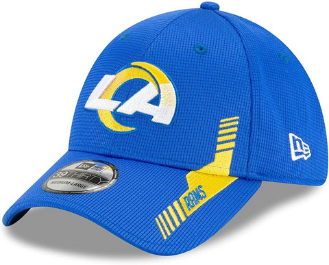 New Era 39Thirty 2021 Sideline Los Angeles Rams Flex Hat