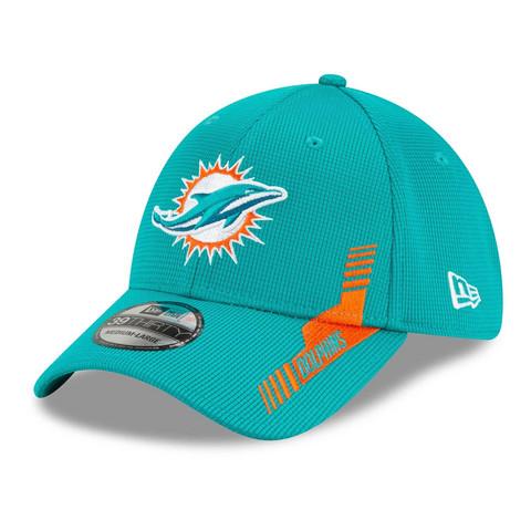 New Era 39Thirty 2021 Sideline Miami Dolphins Flex Hat