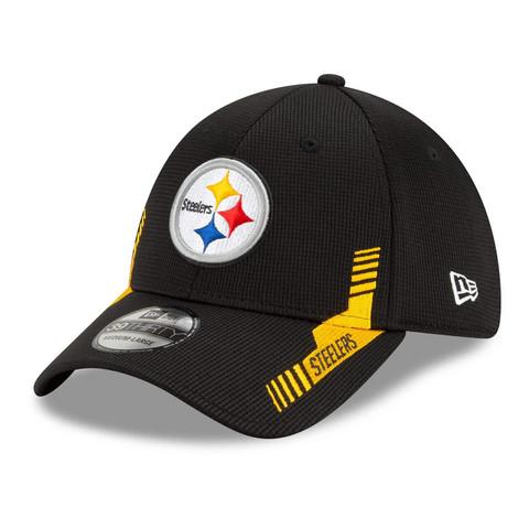 New Era 39Thirty 2021 Sideline Pittsburgh Steelers Flex Hat