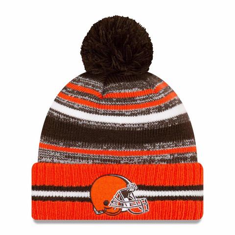 New Era NFL Sideline Sport Knit 2021 Cleveland Browns