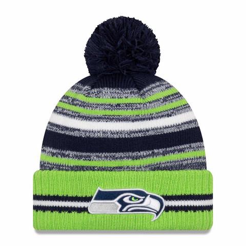 New Era NFL Sideline Sport Knit 2021 Seattle Seahawks
