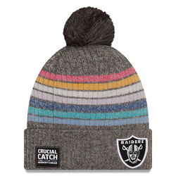 New Era Naisten NFL Crucial Catch Knit 2021 Las Vegas Raiders