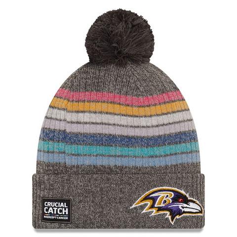 New Era Naisten NFL Crucial Catch Knit 2021 Baltimore Ravens