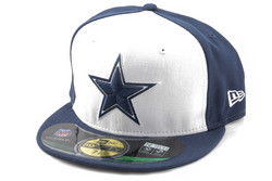 New Era 59Fifty NFL On Field Dallas Cowboys Game Cap, Fitted