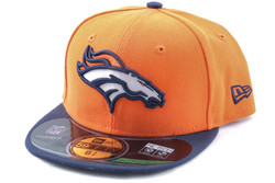 New Era 59Fifty KIDS Cap NFL ON FIELD Denver Broncos, Fitted