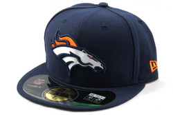New Era 59Fifty NFL ON FIELD Denver Broncos Game Cap, Koko 7 1/8