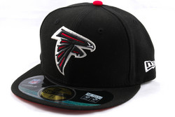 New Era 59Fifty NFL On Field Atlanta Falcons Game Cap, Fitted