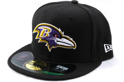 New Era 59Fifty NFL On Field Baltimore Ravens Game Cap, Fitted