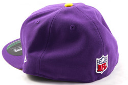 New Era 59Fifty NFL On Field Minnesota Vikings Game Cap, Fitted