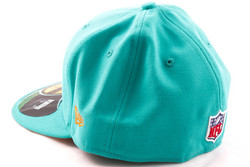 New Era 59Fifty NFL On Field Miami Dolphins Game Cap, Fitted