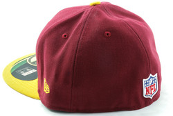 New Era 59Fifty NFL On Field Washington Redskins Game Cap, Fitted