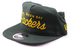 New Era 9Fifty Green Bay Packers Snapback Cap RETRO, Koko S/M
