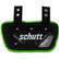 Schutt -Neonvihreä junioreiden Back Plate