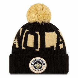 New Era NFL Sideline Bobble Knit 2020 New Orleans Saints