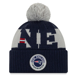 New Era NFL Sideline Bobble Knit 2020 New England Patriots
