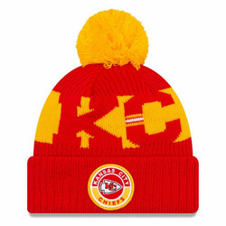 New Era NFL Sideline Bobble Knit 2020 Kansas City Chiefs