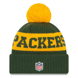 New Era NFL Sideline Bobble Knit 2020 Green Bay Packers