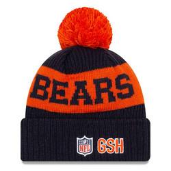 New Era NFL Sideline Bobble Knit 2020 Chicago Bears