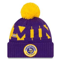 New Era NFL Sideline Bobble Knit 2020 Minnesota Vikings