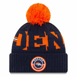 New Era NFL Sideline Bobble Knit 2020 Denver Broncos