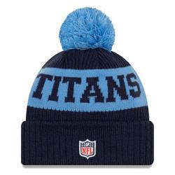 New Era NFL Sideline Bobble Knit 2020 Tennessee Titans