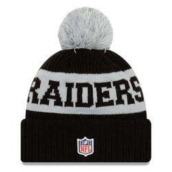 New Era NFL Sideline Bobble Knit 2020 Las Vegas Raiders